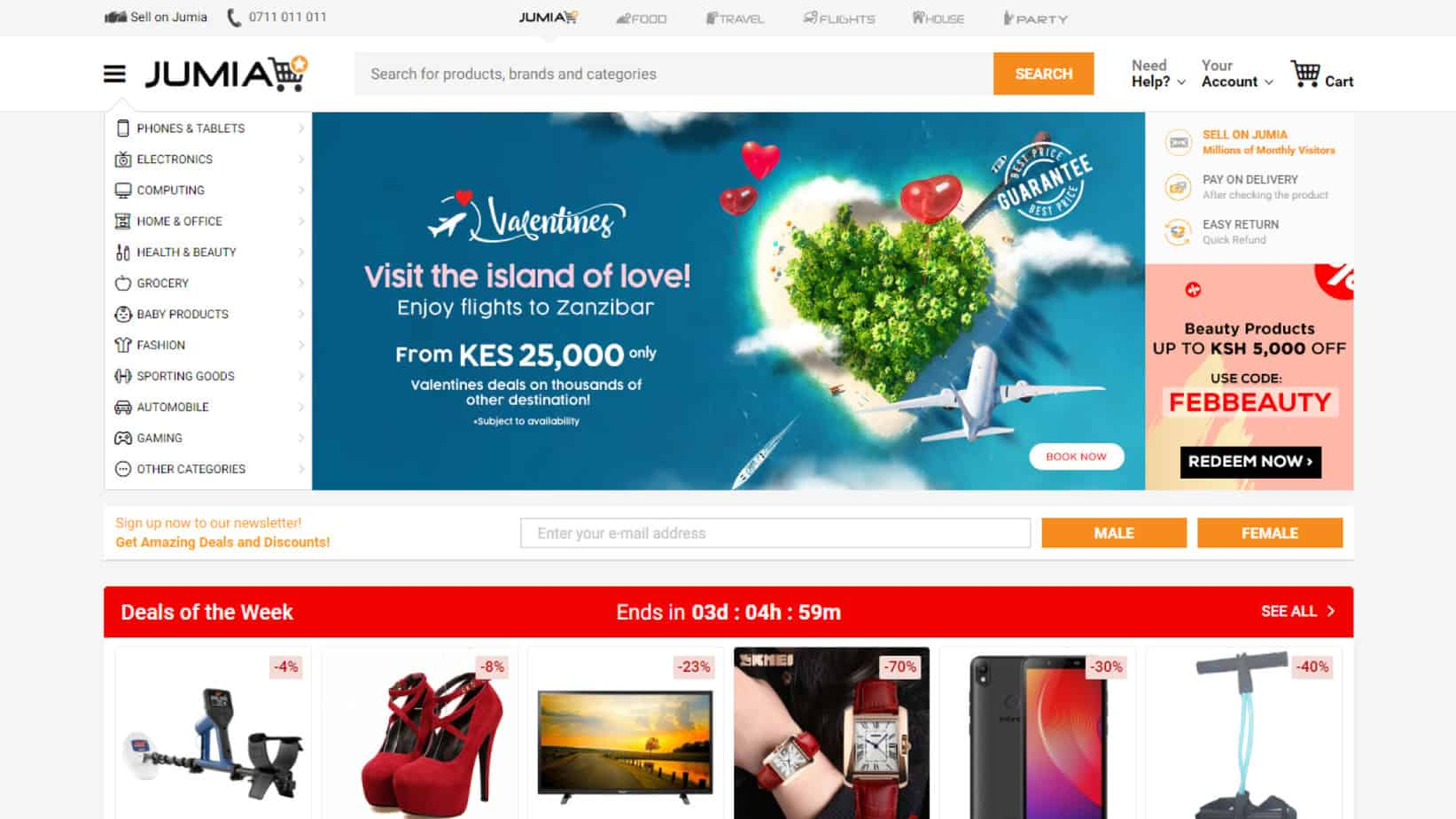 e7b6d32e82 Jumia is one of the leading online retail stores in Kenya with the  implementation of best practices both online and offline. This e-commerce  ...