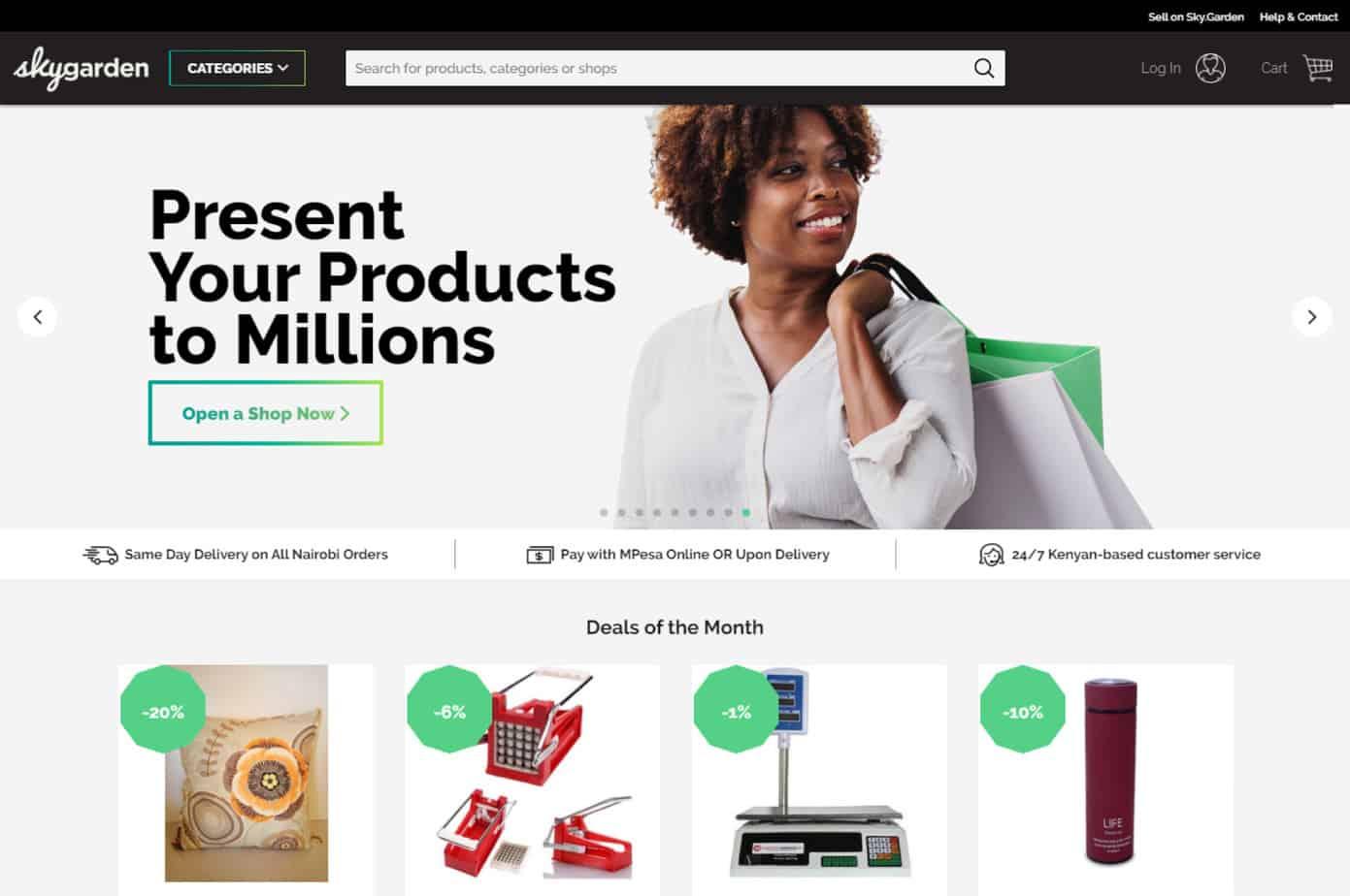 11 Amazing Examples Of E Commerce Website Design In Kenya Simpaul Design